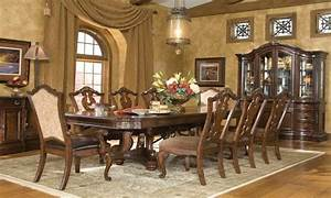 Dining Room Sets With Upholstered Chairs Tuscan Dining