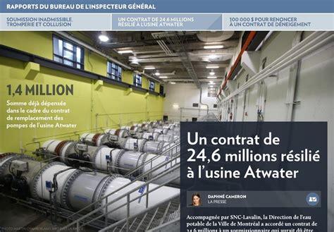 bureau partagé montreal soumission inadmissible tromperie et collusion la presse