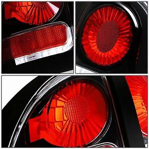 94-98 Ford Mustang Replace Altezza Tail Lights - Black