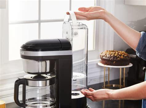 Kitchenaid siphon coffee brewer (medallion silver) 8.2/10 our score. 1.7 L Drip Coffee Maker 5KCM1209 | KitchenAid