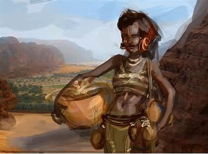Iga Tribal African Woman