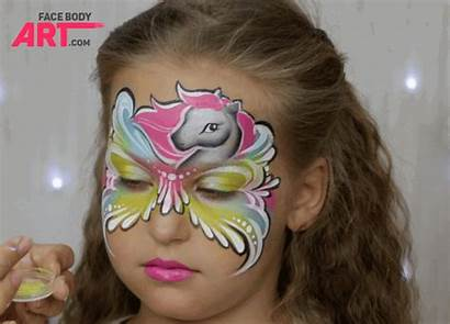 Face Painting Pony Paint Mask Own International