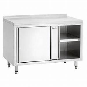 meuble cuisine porte coulissante achat vente meuble With meuble bas cuisine porte coulissante