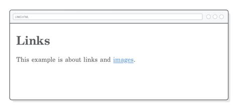 Links Images Tutorial Html Css Hard