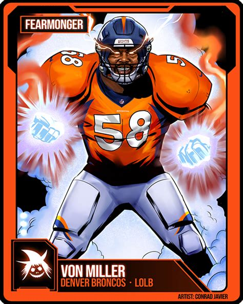 madden nfl  superstar  factor von miller superstar