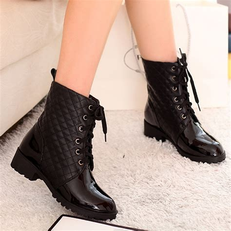 womens biker boots fashion black boots fashion lacing riding boots womens motorcycle