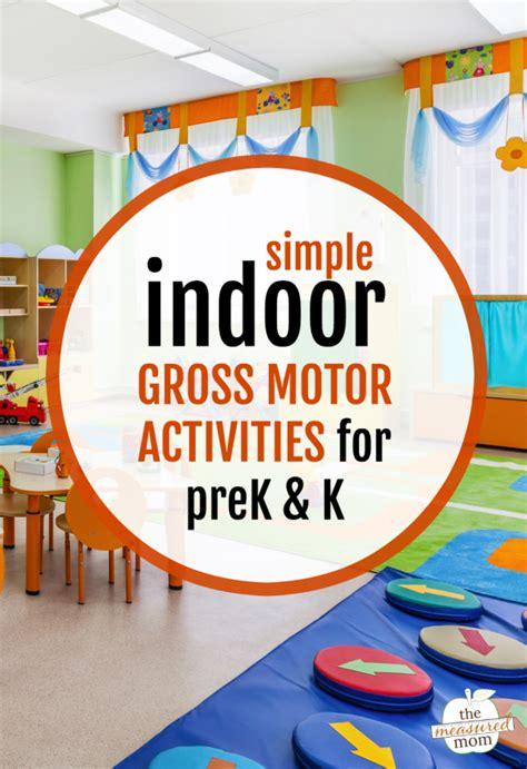 indoor gross motor activities  preschool