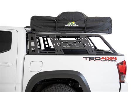 toyota tacoma add lander overland rack addictive desert designs leader