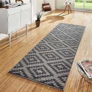 Flur Teppich Grau : design velours teppichl ufer br cke teppich diele flur kurzflor nordic grau ebay ~ Indierocktalk.com Haus und Dekorationen