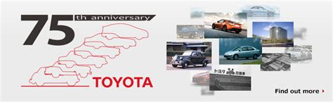 toyota company toyota global site history of toyota