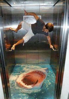 elevator shark floor graphic design elements  chalk