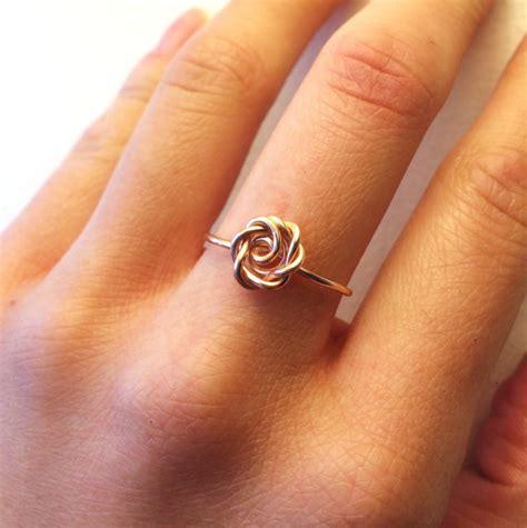 vintage rose ring