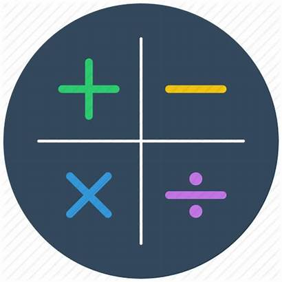 Icon Math Mathematics Calculations Calculator Finance Accounting