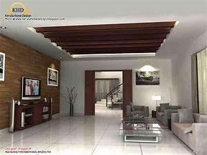 3d rendering concept of interior designs kerala home With interior design ideas kerala style homes