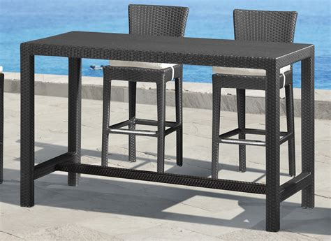 rectangular bar height table bar height rectangular patio table patio furniture