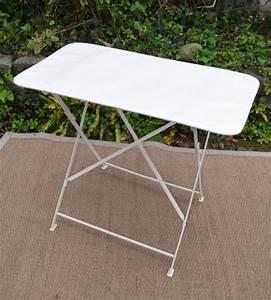 Table De Jardin En Fer : beautiful table de jardin en fer forge pliante images ~ Dailycaller-alerts.com Idées de Décoration