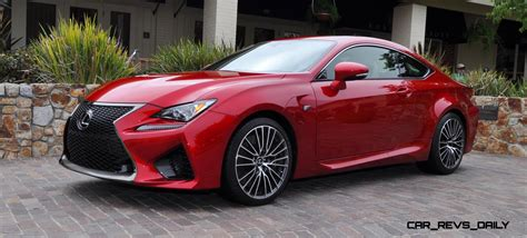 lexus cars red 2015 lexus rc f in red at pebble beach 7