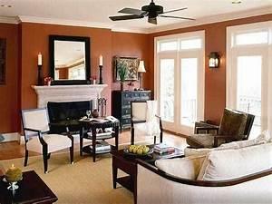 Wandfarben Brauntöne Wohnzimmer : brown paint for living room ~ Markanthonyermac.com Haus und Dekorationen