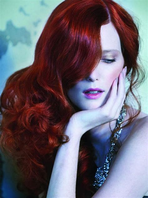 Hair Dye Colours For Hair by Pictures Winter Hair Color Ideas 2013 Ruby Hair