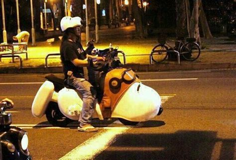 Just A Snoopy Motorcycle, Nbd