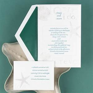 by the seashore invitation invitations by dawn With inexpensive thermography wedding invitations