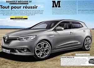 Megane 4 2015 : renault megane 4 les rendus d auto plus et l auto journal plan te ~ Medecine-chirurgie-esthetiques.com Avis de Voitures
