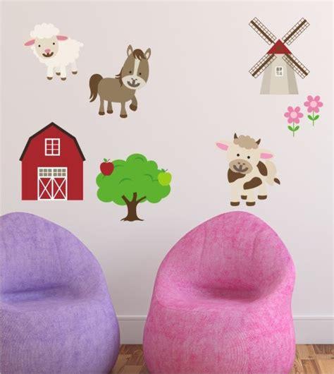 Kinderzimmer Ideen Bauernhof by Bauernhof Wandtattoo Kinderzimmer Wandsticker