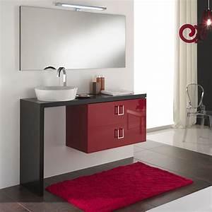 Arredo bagno moderno composizione arredo bagno moderno for Arredo bagno rosso