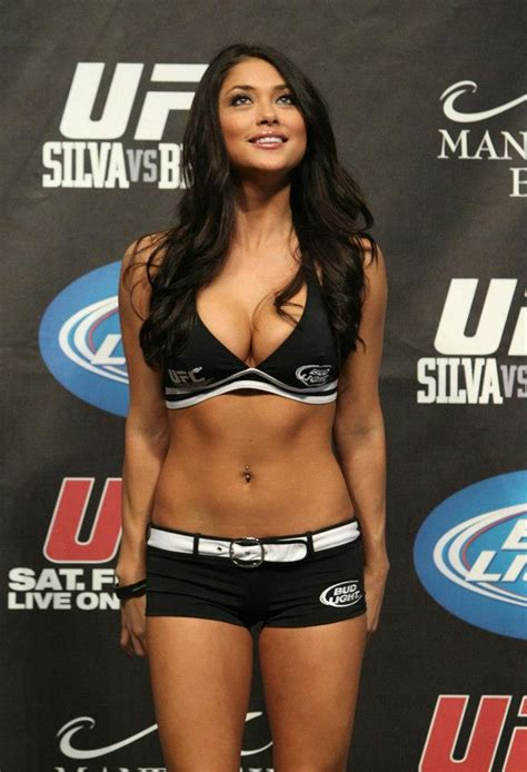 hot ufc octagon bikini girl arianny celeste bodybuilding