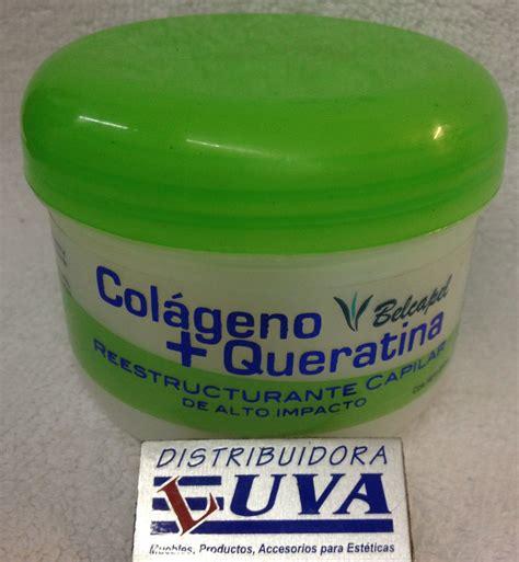 tratamiento p cabello belcapel con colageno y queratina