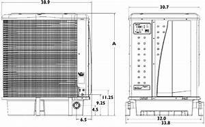 Pentair Ultratemp Heat Pump 140k Btu