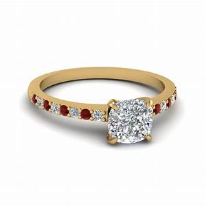 customize ruby petite engagement rings fascinating diamonds With gold wedding rings with ruby