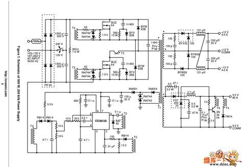 Circuit Diagram Of 600va Inverter by Apc 500va Ups Circuit Diagram Ourclipart