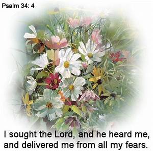 Psalm 34:4   Words to Live By   Pinterest