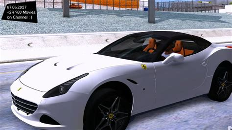 Performance wise, the ferrari california t's v8 turbocharged engine provides 560hp and up to 755nm of torque. Ferrari California T New ENB Top Speed Test GTA Mod Future _REVIEW - YouTube