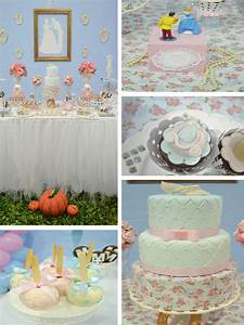 Kara39s Party Ideas Cinderella Themed Birthday Party