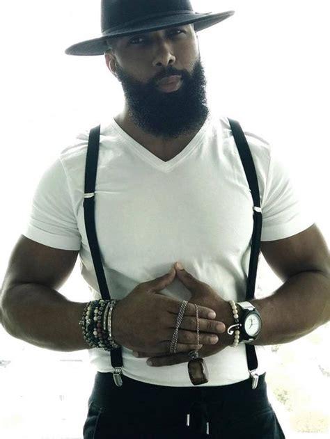 black men beards ideas  pinterest black