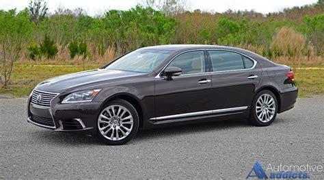 2016 Lexus Ls 460l Review & Test Drive