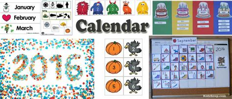 preschool and kindergarten calendar activities and 945 | Calendar Activities