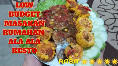 Lihat juga resep udang saus padang enak lainnya. RESEP MASAK GURAME SAUS PADANG ALA RESTO - YouTube