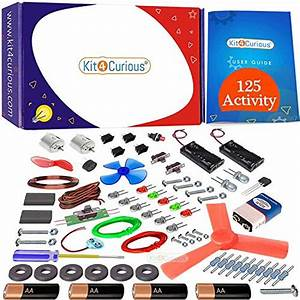 Kit4curious 125 Projects Diy Activity Science Electronics