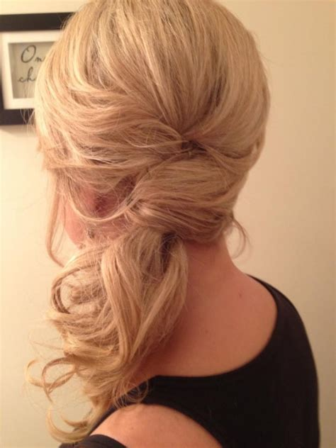 fabulous side ponytail hairstyles pretty designs
