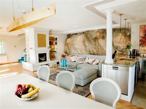 cuisine ouverte sur salle à manger et salon salon cuisine americaine cuisine ouverte sur salon de