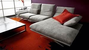 Sofa Mit Holzrahmen : koinor sofa francis in grau m bel b r ag ~ Frokenaadalensverden.com Haus und Dekorationen