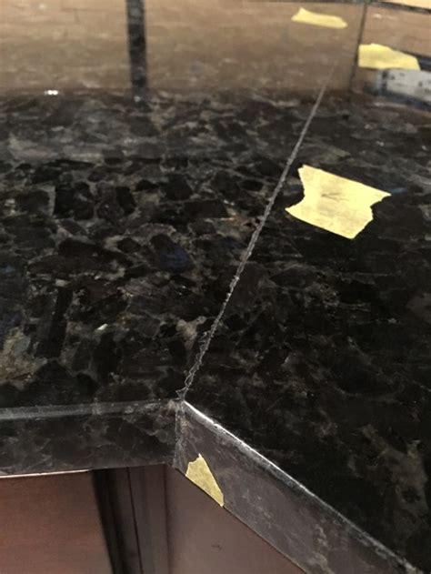 typical  granite seams