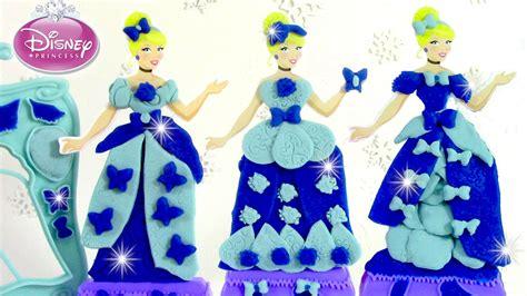 p 226 te 224 modeler princesse cendrillon cr 233 ations royales robe de princesses disney play doh