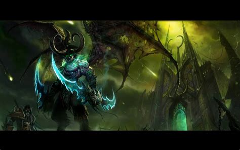 Animated Wallpaper World Of Warcraft - wow dreamscene illidan the betrayer