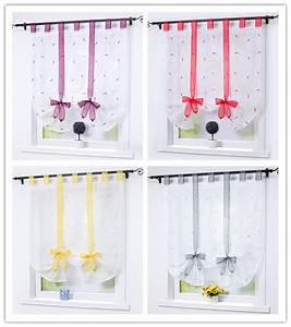 Gardine Kinderzimmer Transparent : raffrollo k che raffgardinen gardinen wohnzimmer fenstergardine modern gr n ebay ~ Watch28wear.com Haus und Dekorationen