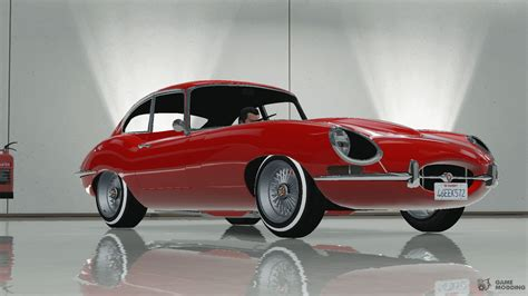 Jaguar E-type Stock Final For Gta 5