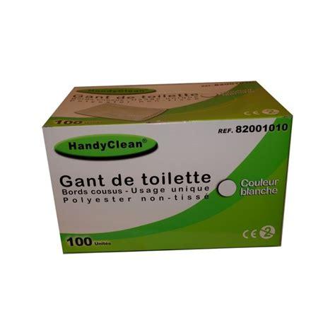 gant de toilette jetable gant de toilette jetable handyclean mks sant 233
